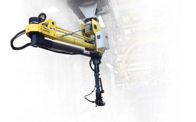 Handling and torque reaction: electronic balanced arm
