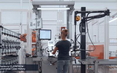 Clerprem Spa: adaptive workstation with an torque reaction arm