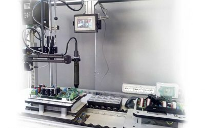 Power electronics components assembly: process control solution