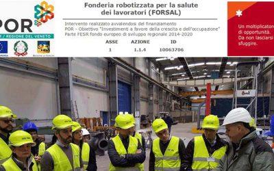 Progetto FORSAL: fonderia robotizzata per la salute dei lavoratori